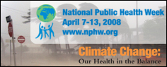 National Public Health Week 2008